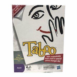 NIB Taboo Parker Brothers Hasbro Sealed 2010 Game